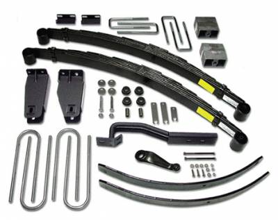 Suspension - Lift Kits - Tuff Country - Tuff Country COMPLETE KIT (W/O SHOCKS) FORD F250 6IN. 26826K