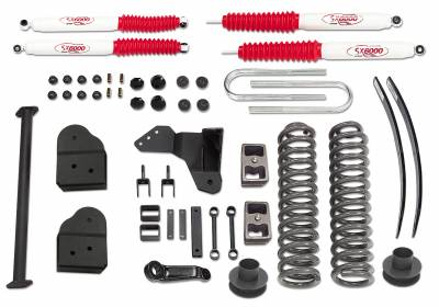 Suspension - Lift Kits - Tuff Country - Tuff Country COMPLETE KIT (W/SX8000 SHOCKS) FORD F250/F350 6IN. 26975KN