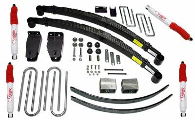 Suspension - Lift Kits - Tuff Country - Tuff Country COMPLETE KIT (W/SX6000 SHOCKS) FORD F250 4IN. 24826KH