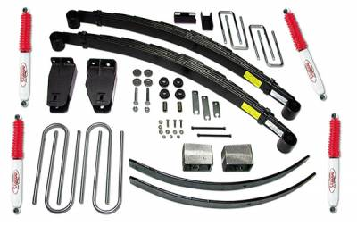Suspension - Lift Kits - Tuff Country - Tuff Country COMPLETE KIT (W/SX8000 SHOCKS) FORD F250 4IN. 24821KN