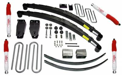 Suspension - Lift Kits - Tuff Country - Tuff Country COMPLETE KIT (W/SX6000 SHOCKS) FORD F250 4IN. 24821KH