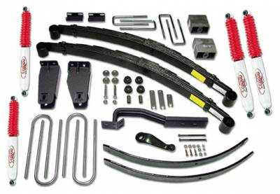 Suspension - Lift Kits - Tuff Country - Tuff Country COMPLETE KIT (W/SX8000 SHOCKS) FORD F250 6IN. 26826KN