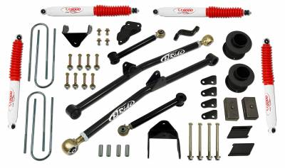 Suspension - Lift Kits - Tuff Country - Tuff Country COMPLETE KIT (W/SX8000 SHOCKS) DODGE RAM 4.5IN. 34224KN