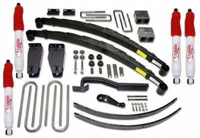 Suspension - Lift Kits - Tuff Country - Tuff Country COMPLETE KIT (W/SX6000 SHOCKS) FORD F250 6IN. 26821KH