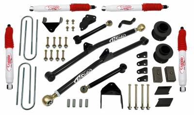 Suspension - Lift Kits - Tuff Country - Tuff Country COMPLETE KIT (W/SX6000 SHOCKS) DODGE RAM 4.5IN. 34222KH