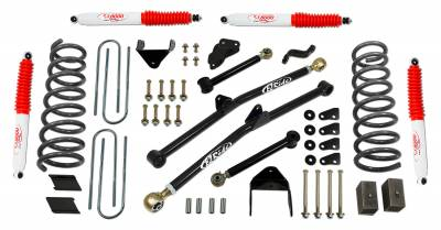 Suspension - Lift Kits - Tuff Country - Tuff Country COMPLETE KIT (W/SX8000 SHOCKS) DODGE RAM 4.5IN. 34217KN
