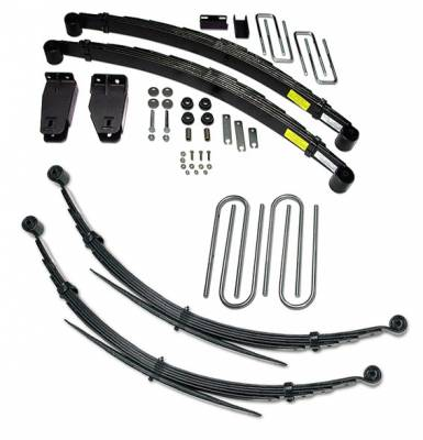 Suspension - Lift Kits - Tuff Country - Tuff Country COMPLETE KIT (W/O SHOCKS) FORD F250 4IN. 24827K