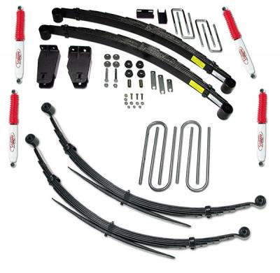 Suspension - Lift Kits - Tuff Country - Tuff Country COMPLETE KIT (W/SX8000 SHOCKS) FORD F250 4IN. 24827KN