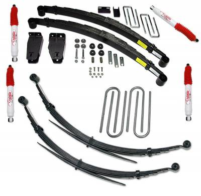 Suspension - Lift Kits - Tuff Country - Tuff Country COMPLETE KIT (W/SX6000 SHOCKS) FORD F250 4IN. 24827KH