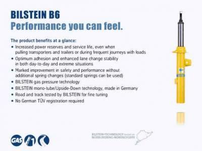 Bilstein - Bilstein B6 4600 - Shock Absorber 24-241755