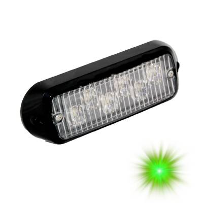 Suspension - Steering - Oracle Lighting - Oracle Lighting ORACLE 6 LED Undercover Strobe Light - Green 3404-004