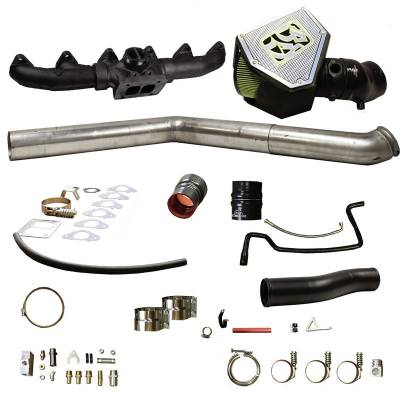 Turbos & Twin Turbo Kits - Rebuild / Parts - BD Diesel - BD Diesel Turbo Install Kit, S400 - Dodge 2007.5-2009 6.7L 1045701