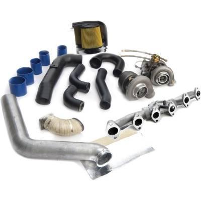 Turbos & Twin Turbo Kits - Compound Turbos - BD Diesel - BD Diesel Super B Twin Turbo Upgrade Kit - 1998-2002 24-valve Dodge 1045325