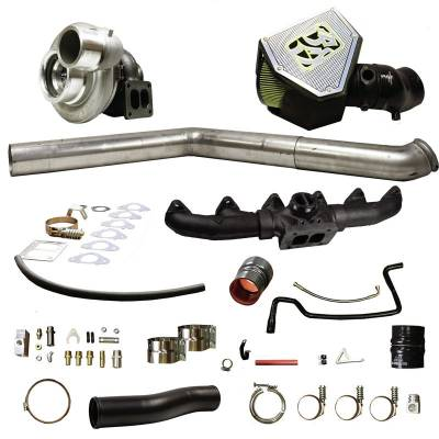 "Turbos & Twin Turbo Kits - Single ""Drop In"" Turbos - BD Diesel - BD Diesel Turbo Kit, S471 0.90 A/R - Dodge 2007.5-2009 6.7L 1045730"