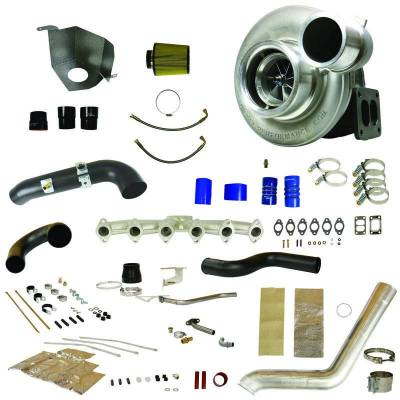 Turbos & Twin Turbo Kits - Compound Turbos - BD Diesel - BD Diesel RT700 Track Master Twin Turbo Super B Special Upgrade Kit - 2010-2012 Dodge 6.7L 1045491