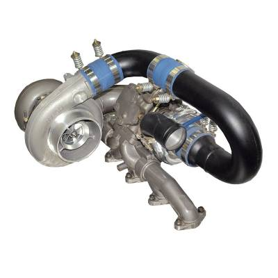 Turbos & Twin Turbo Kits - Compound Turbos - BD Diesel - BD Diesel R850 Tow & Track Turbo Kit w/o Secondary - 1998-2002 24valve Manual Trans 1045427