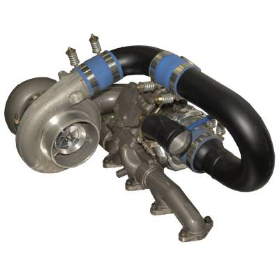 Turbos & Twin Turbo Kits - Compound Turbos - BD Diesel - BD Diesel R700 Tow & Track Turbo Kit - 1998-2002 24valve 1045420