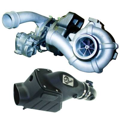 Turbos & Twin Turbo Kits - Compound Turbos - BD Diesel - BD Diesel Twin Turbo System - Ford 6.4L 2008-2010 c/w Air Intake Kit 1047080