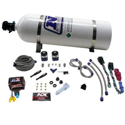 Nitrous Express - Nitrous Express SX2D DUAL STAGE DIESEL SYSTEM WITH MINI PROGRESSIVE CONTROLLER. NXD4000