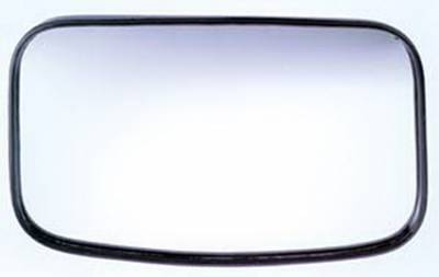 "Cipa USA - Cipa USA 4 x 8"" Clamp-On Convex HotSpot Mirror Reduces blind spots for safer driving 49504"