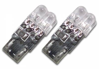 Cipa USA - Cipa USA EVO Formance LED T-10 Bulb Blue and White - Twin Pack :Xenon: 8000K 93158