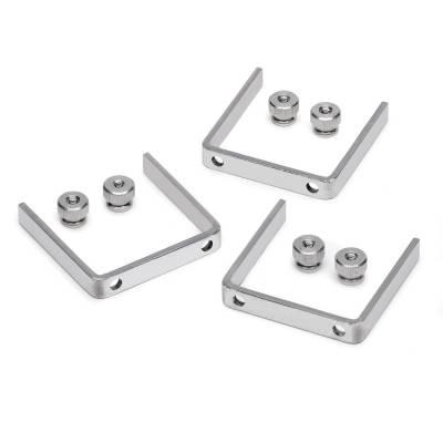 Auto Meter - Auto Meter Gauge Bracket Kit; 2 1/16in.; aluminum; qty 3 2225