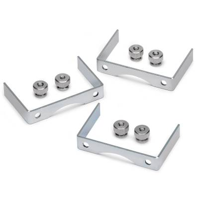 Gauges & Pods - Gauge Accessories - Auto Meter - Auto Meter Gauge Bracket Kit; 2 5/8in.; aluminum; qty 3 2226