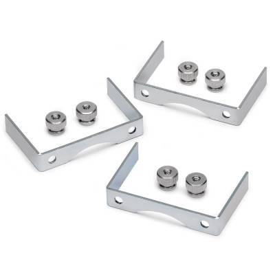 Auto Meter - Auto Meter Gauge Bracket Kit; 2 5/8in.; aluminum; qty 3 2226