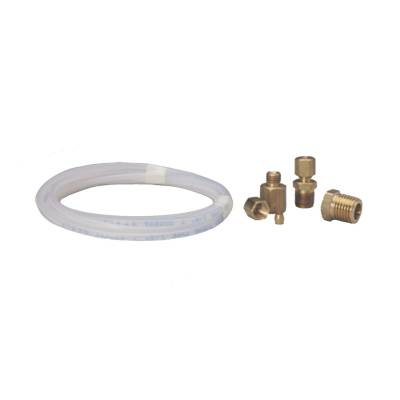 Turbos & Twin Turbo Kits - Turbo Piping - Auto Meter - Auto Meter Tubing; Nylon; 1/8in.; 10ft. Length; incl. 1/8in. NPTF brass compression fitting 3223
