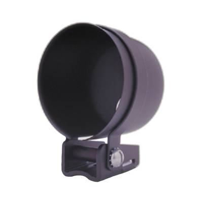 Gauges & Pods - Gauge Accessories - Auto Meter - Auto Meter Gauge Mount; 2 5/8in.; Pedestal w/Black Cup; For Mech. Gauge 3204