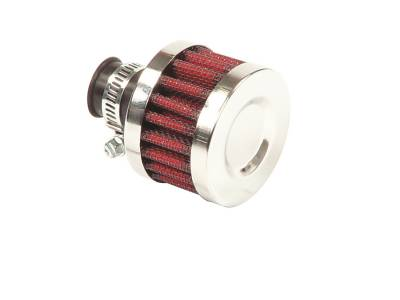 Mr Gasket - Mr Gasket ALUM VENT BREATHR-3/8in. TUBE 2043