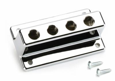 Mr Gasket - Mr Gasket 4-HOLE T-STYLE FUEL BLOCK 6152