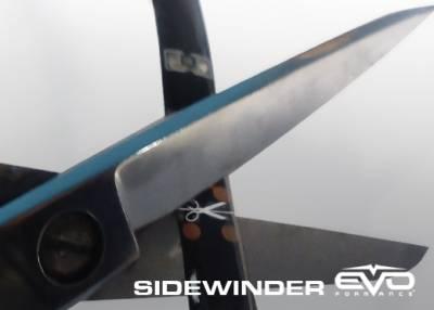 Cipa USA - Cipa USA EVO Formance LED Sidewinder Eyebrows 30cm- Blue 93307