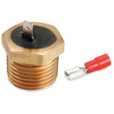Auto Meter - Auto Meter Temperature Switch; 220deg. F; 1/2in. NPTF Male; for Pro-Lite Warning Light 3247 - Image 1