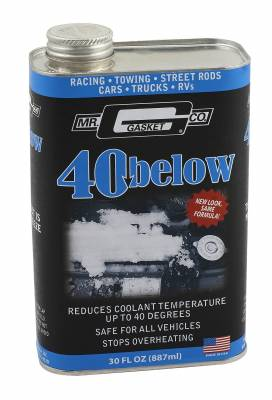 Mr Gasket - Mr Gasket 40 Below Coolant Additive 4032G