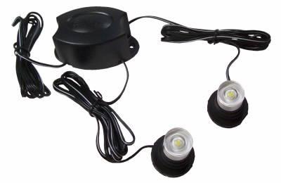 Cipa USA - Cipa USA EVO Formance LED Headlight Strobes-White. 100% Plug and Play 93184