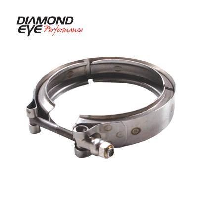 Diamond Eye Performance - Diamond Eye Performance PERFORMANCE DIESEL EXHAUST PART-V-BAND CLAMP FOR HX40 STYLE TURBO VC400HX40