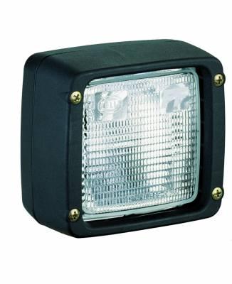 Lighting - Off Road Lighting / Light Bars - Hella - Hella Ultra Beam Halogen Flush Mount Work Lamp (CR) 24V H15506097