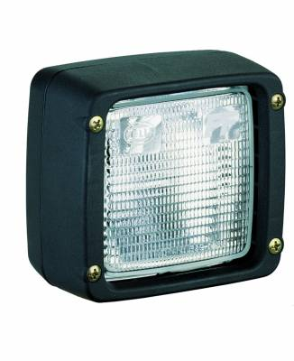 Lighting - Off Road Lighting / Light Bars - Hella - Hella Ultra Beam Halogen Flush Mount Work Lamp (CR) H15506047