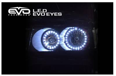 Cipa USA - Cipa USA EVO Formance LED EVO Eyes (Halos) - Blue 93204