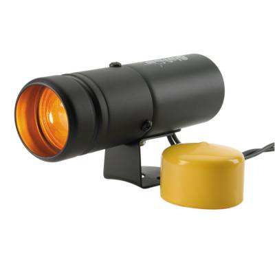Auto Meter - Auto Meter Shift Light; Amber; Pedestal; Black; Shift-Lite 5334 - Image 1