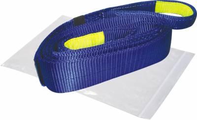 "Bulldog Winch - Bulldog Winch Recovery Strap 3"" x 30', 30,000lb BS polyester 20030"
