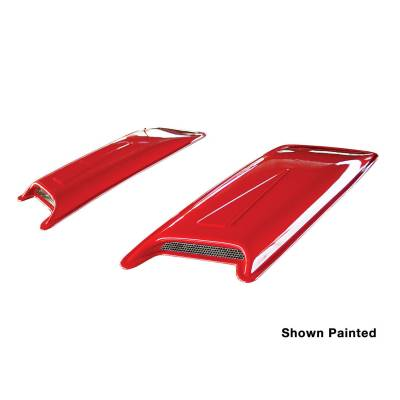 Exterior Accessories - Hoods / Tail Gates - Westin - Westin HOOD SCOOP 72-13012