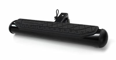 Exterior Accessories - Towing/Pulling & Cargo - Go Rhino - Go Rhino 4  Oval Hitch Step - Black 460B