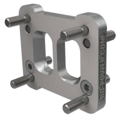 Turbos & Twin Turbo Kits - Turbo Accessories - BD Diesel - BD Diesel Adapter - T4-T3 Manifold Flange 1044106