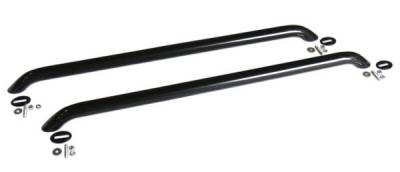 Exterior Accessories - Towing/Pulling & Cargo - Go Rhino - Go Rhino  Multi-Fit  Universal Bed Rails - 47 1 2  Long 8048UB