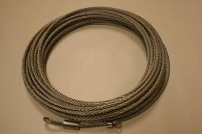 "Bulldog Winch - Bulldog Winch Wire Rope, 10001 5/16"" x 100' (8.1mm x 30.5m) 20108"