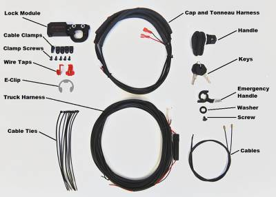 Pop & Lock - Pop & Lock Pop & Lock Tonneau Cover Tailgate Lock Assembly PL9555