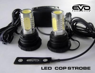 Cipa USA - Cipa USA EVO Formance LED Cop Headlight Strobes - Red 93190