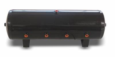 Air Lift Performance - Air Lift Performance 8.5 Gallon Air Tank;  (8) 1/2'' ports; 12 1/2'' H x 32 1/2'' L ; DOT Approved 10994